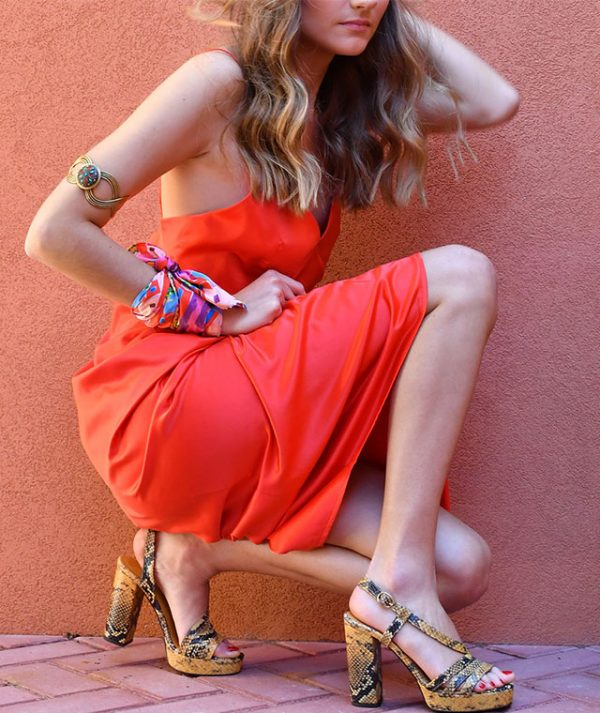 Sandálias amarelas Naomi