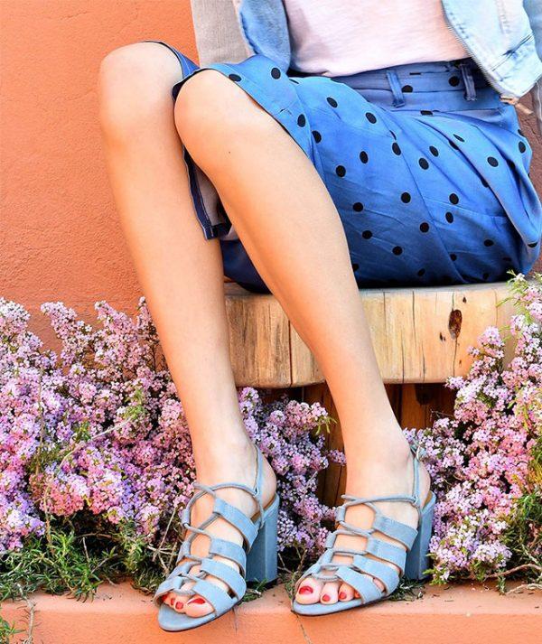 Sandálias Azuis Giselle